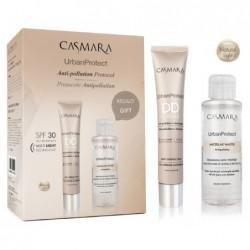 Rinkinys veidui Casmara Urban Protect Face Set DD Cream + Micelar Water 2020 CASAL15900, rinkinį sudaro: DD kremas nr. 00, 50 ml, micelinis vanduo veidui, 100 ml