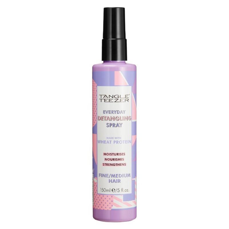 Plaukų iššukavimą lengvinanti priemonė Tangle Teezer Detangling Spray Fine/Medium Hair WLDS010220, ploniems, normaliems plaukams, 150 ml