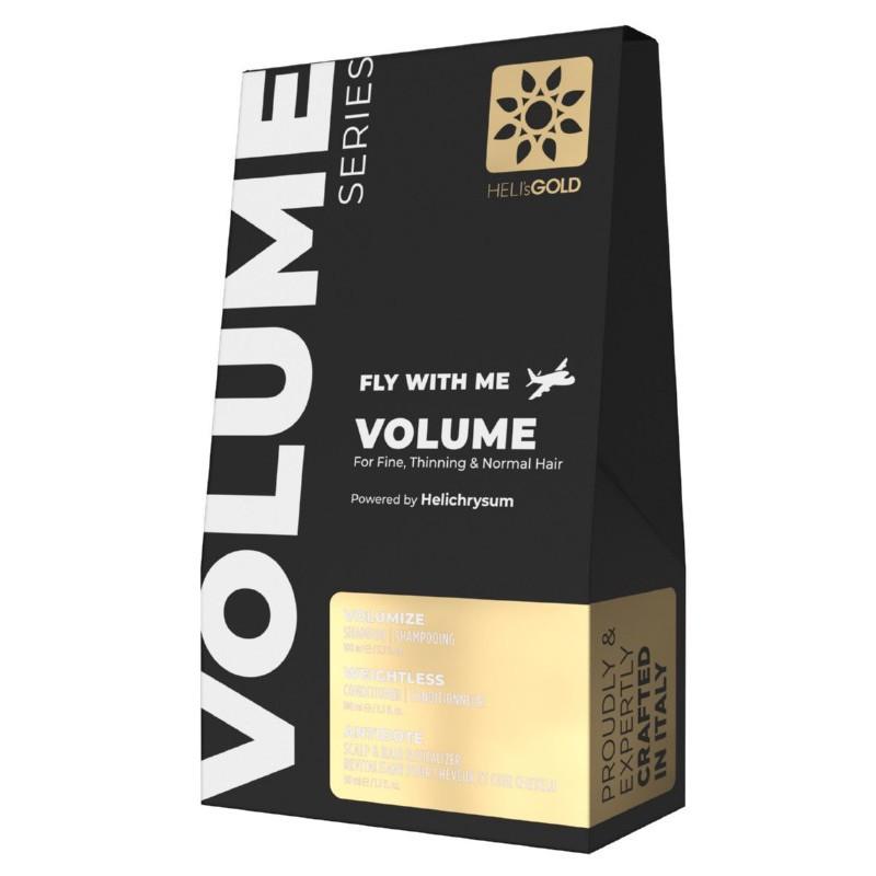 Plaukų priežiūros priemonių rinkinys Heli's Gold Volume Series Fly With Me Kit HELA570032K, normaliems plaukams