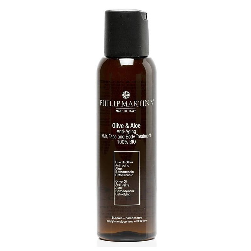 Aliejus plaukams ir kūnui Philip Martin's Olive & Aloe PM910, 100 ml