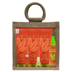Kūno priežiūros rinkinys California Mango Essential Hand and Body Care Kit CM3SC
