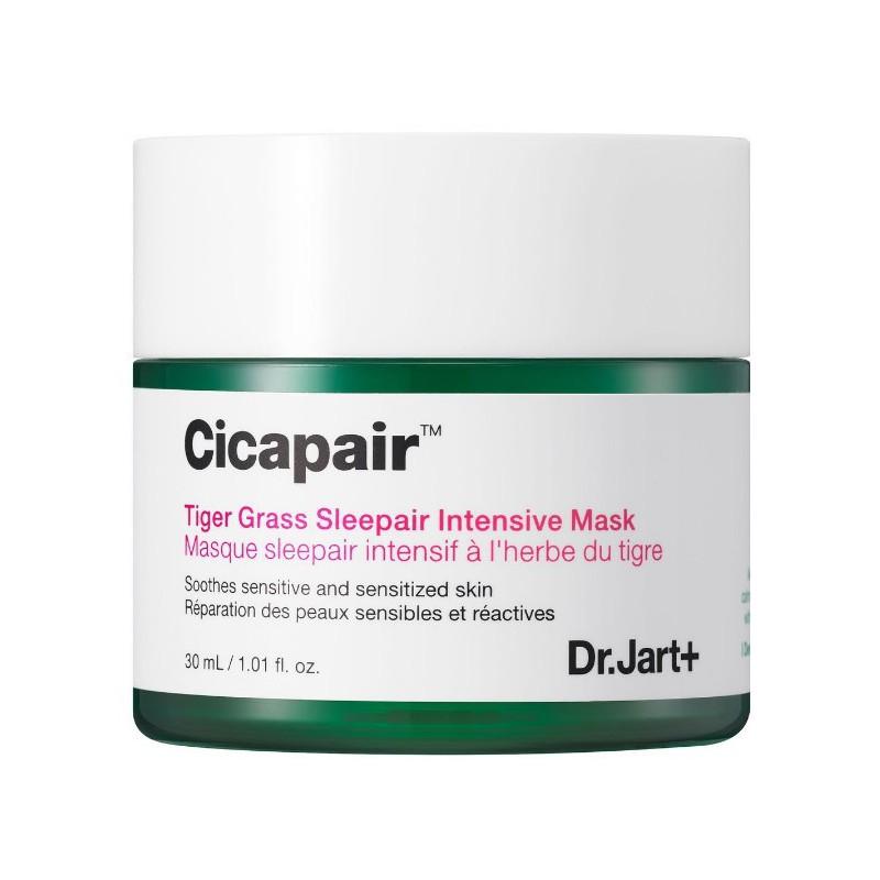 Veido kaukė Dr.Jart+ Cicapair Tiger Grass Sleepair Intensive Mask DRCPA0314O0, intensyvi veido kaukė, galima naudoti nakčiai, 30 ml