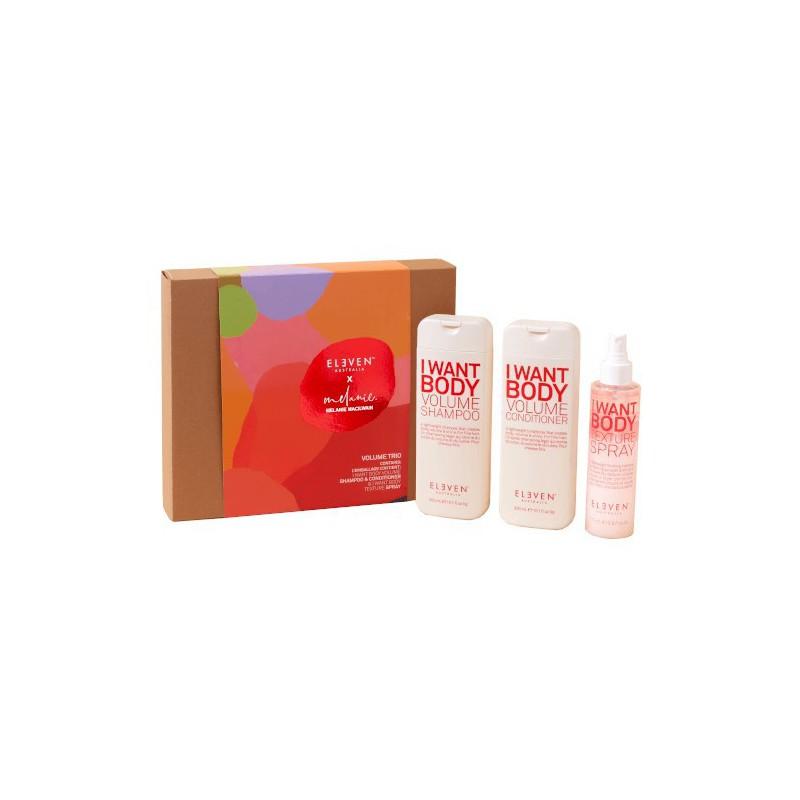 Plaukų priežiūros priemonių rinkinys Eleven Australia Volume Holiday 2020 ELED075 - limited edition
